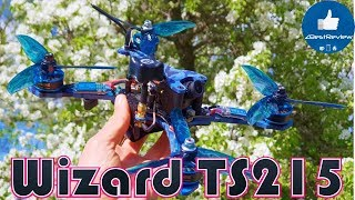 ✔ Eachine Wizard TS215 - Мощный FPV Квадрокоптер, Но...