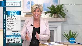 HSN | Suze Orman Financial Solutions for You 02.17.2019 - 08 AM