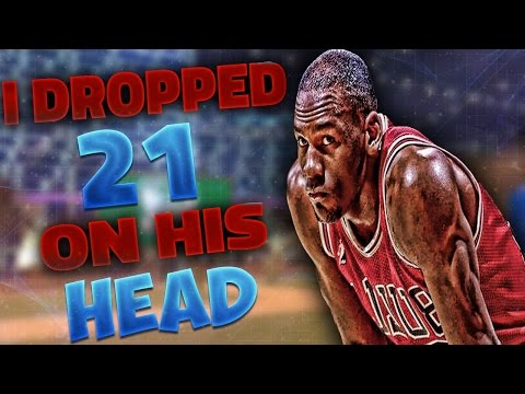 I DROPPED 21 POINTS ON HIS HEAD!