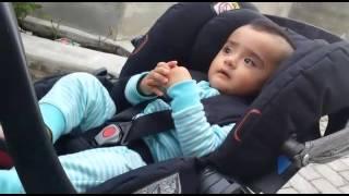 Zaryan outside dada and dadis home ❤❤❤