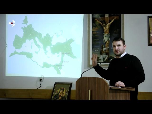 """""""Istoria Bisericească Universală"""" (I) – diac. Costel Căuș – Partea II"""