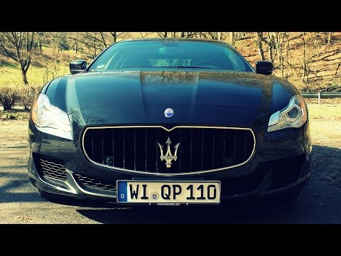 ' 2015 Maserati Quattroporte ' Test Drive & Review -