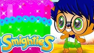 Smighties - Yummy Ice Creams & Cakes Challenge Cartoons   Funny Cartoon Video   Cartoons for Kids
