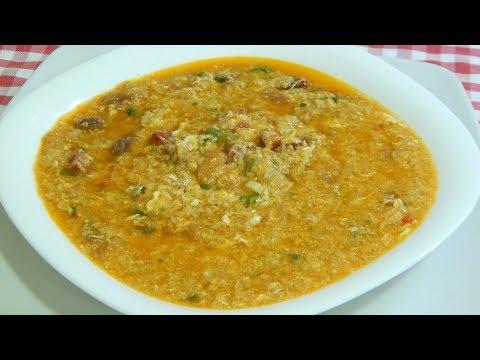 Sopa de pueblo casera, Receta de la Abuela muy fácil y económica