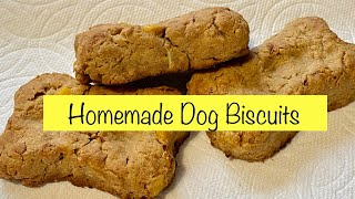 dog treats recipe with coconut flour