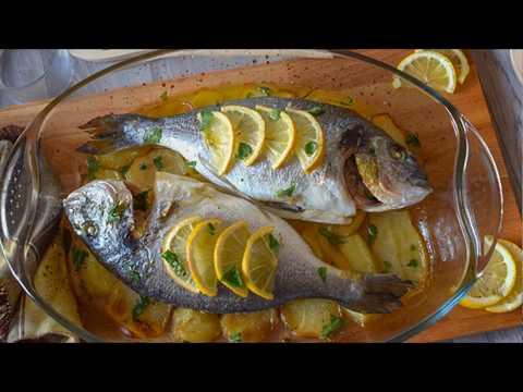 DORADA AL HORNO , ¡fácil y deliciosa!