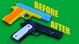 Colt M1911 Child's Toy Makeover- Chris' QUICK Custom Collectables