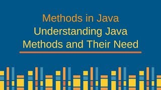 Methods in Java - Understanding Java Methods and Their Need