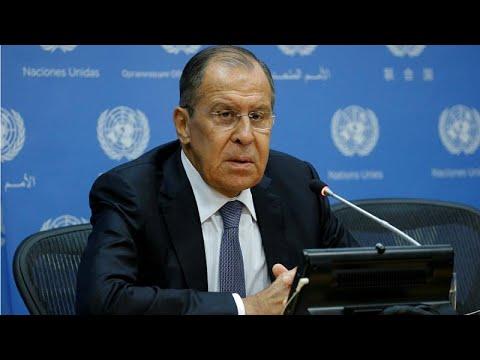 Λαβρόφ: Στο ναδίρ οι σχέσεις Ρωσίας – ΗΠΑ
