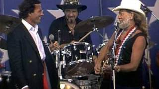 Willie Nelson & Julio Iglesias - To All the Girls I've Loved Before (Live at Farm Aid 1986)