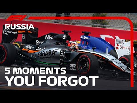 F1 10戦ロシアGP(ソチ)忘れられない過去のロシアGPの名場面を集めたダイジェスト動画