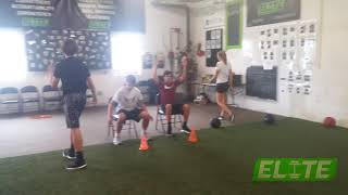Contrast Seated Vertical Jumps to develop 💥 EXPLOSIVE Lower Body Power
