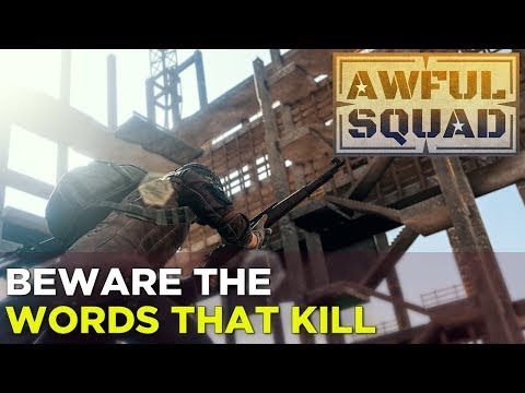 AWFUL SQUAD: Words That Kill feat. Kate Stark, Griffin, Russ, Simone, Jenna, and Travis