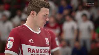 EFL championship Middlesbrough vs Barnsley