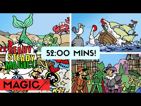Children's Folk Tales Collection | Magic Cartoon Stories | Ready Steady Magic