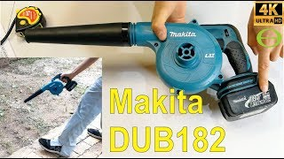 Review of the Makita DUB182 blower