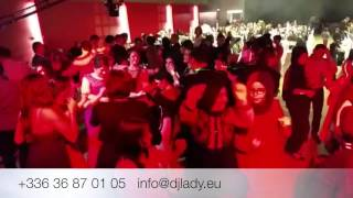 DJLADY Fransa Kina Gecesi STRASBOURG  2014-2015