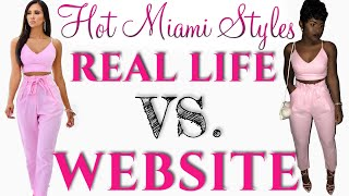 Hot Miami Styles Try On Haul 2018 | Real Life vs. Website | iDESIGN8
