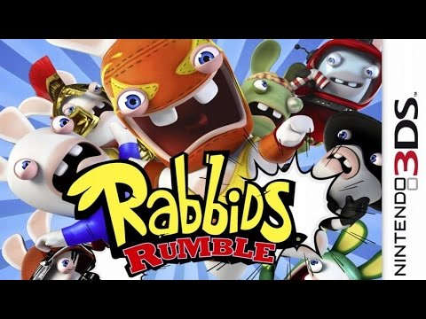 Видео № 1 из игры Rabbids Rumble (Б/У) [3DS]