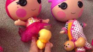 My lalaloopsy collection!!!!!!!!! (Read discription)