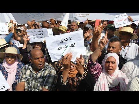 العرب اليوم - شاهد:آلاف التونسيين يتظاهرون ضد إصلاحات لجنة رئاسية تقترح المساواة في الإرث