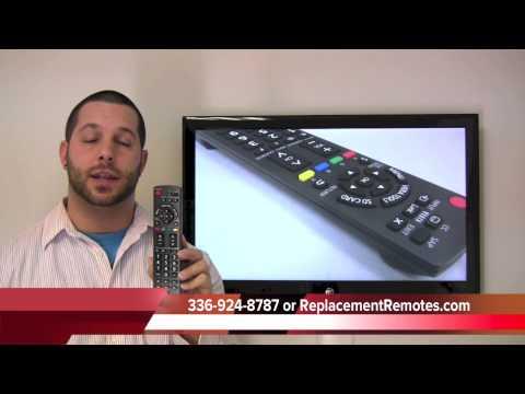 Panasonic N2QAYB000485 TV Remote Control