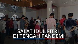 Masjid Hidayah Kota Padang Tetap Gelar Salat Idul Fitri di Tengah Pandemi Corona