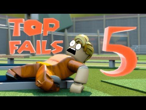 Top 5 Jailbreak Fails - Funny Roblox Animations