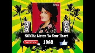Sonia - Listen To Your Heart  (Radio Version)