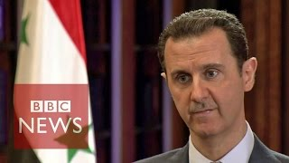 Syria conflict: BBC exclusive interview with President Bashar al-Assad (FULL) - Video Youtube