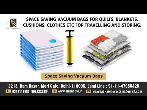 Space Saving Vacuum Bags for Cushion Blankets Medium