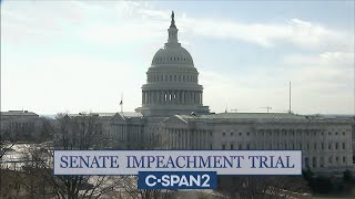 U.S. Senate Impeachment Trial of Former President Trump (Day 2)