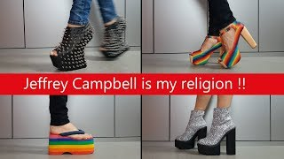 My Entire Jeffrey Campbell Shoe Collection !!