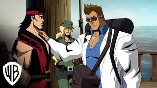 "Mortal Kombat Legends: Scorpion's Revenge | ""Meet Johnny Cage"" clip | Warner Bros. Entertainment"