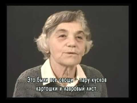 Свидетель Гита Юделевич рассказывает о начале немецкой оккупации Каунаса, о побеге из гетто и начале спасения