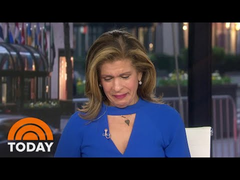 Hoda Kotb Gets Emotional Interviewing New Orleans Saints QB Drew Brees | TODAY