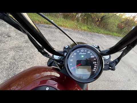 2020 Indian Scout® Bobber Twenty ABS in Muskego, Wisconsin - Video 2