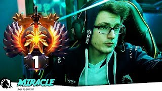 Miracle Supermajor Champion + TI7 Winner going for his next Achievement: TOP 1 MMR Rank in the World