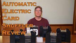 Automatic Electric Card Shuffler 6 Deck Battery-Operated Review