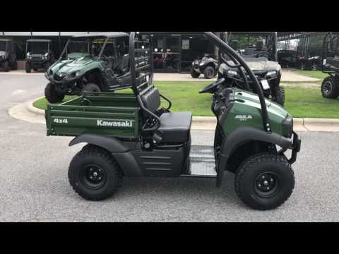 2018 Kawasaki Mule SX 4X4 in Greenville, North Carolina - Video 1