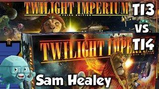 TI3/TI4 Comparison with Sam Healey