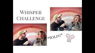 JULIE'S CORNER: Whisper Challenge *crazy*