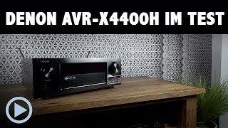 Vorstellung: Denon AVR-X4400H 9.2 Receiver Test