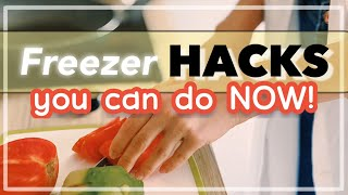 Best Freezer HACKS!