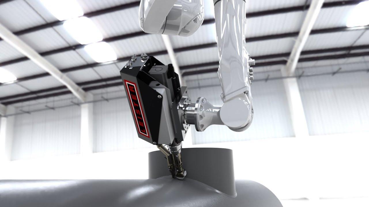 로봇을 이용한 압출 용접 및 3D 프린팅