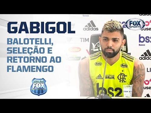 Gabigol fala de Balotelli e Seleção Brasileira