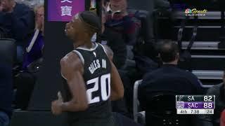 San Antonio Spurs vs Sacramento Kings   November 12, 2018