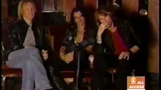 Aerosmith VH1 All Access Just Push Play album making of