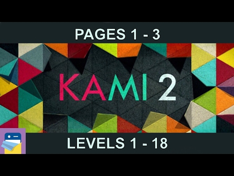 KAMI 2: Journey Pages 1 2 3 (Levels 1 -18) Walkthrough & Solutions (by State of Play)