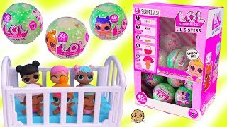 Color Changing LOL Surprise Lil Baby Sisters - Blind Bag Toys Video